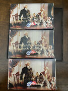2007 2008 2009 S Presidential Dollar 4 Coin Proof Sets Original Box And Coa