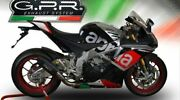 Aprilia Rsv4 - Rf - Rr - Racer Pack 2015/16 Exhaust Furore Nero By Gpr Of Italy