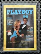 Playboy Burt Reynolds Limited Numbered Autographed Chromium Ed 3 Trading Cards