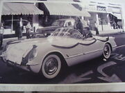 1954 Chevrolet Corvette Home Coming Queen In Parade 11 X 17 Photo Picture