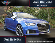 Tuning Kit Upgrade Full Body Kit Rs3 Replica Style A3 8v