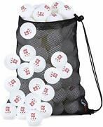 Ping Pong Balls 50 Count For Professional Table Tennis 3-star 40mm - White