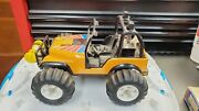 Vintage Tonka Jeep Wrangler. Three Speeds Forward And Reverse Tested And Working
