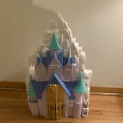 Disney Frozen 2 In 1 Castle And Ice Palace Playset Only