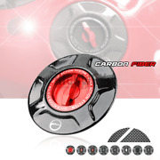 Carbon Fuel Tank Gas Cover Caps For Bmw S1000rr / Hp4 10-20 S1000r Naked 14-19