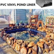 33x10ft Hdpe Fish Pool Pond Liner Membrane Reinforced Gardens Pools