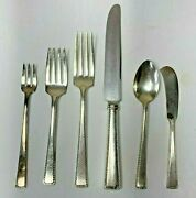 68 Pc Vintage Alvin Silverplate Classic1925 Flatware Lot Spoons Forks Serving ++