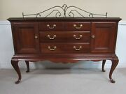 Thomasville Cherry Queen Anne Server Buffet Sideboard With Optional Gallery