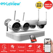 Laview Hd 1080p 8ch Nvr Wireless 2mp Security Ip Camera System Ir Night Vision