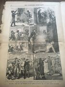Illustrated Life Of Jesse James May 6 Illustrated Police News 1882 Newspaper