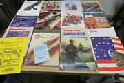 18 Vintage Savage, Handr , Marlin, Ithaca Catalogs And Dealer Papers