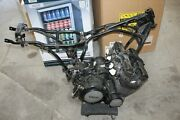 1982 Yamaha Maxim 650 Xj650 Engine Motor Trans Complete Frame With Parers