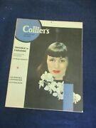 Vintage Collier's Magazine August 10, 1946 Trouble In Paradise Still Life Art