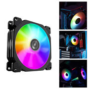 Fr-925 Portable Low Noise Led Rgb Pc Case Cooling Fan Cpu Cooler High-speed