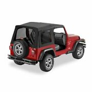 Bestop 55629-15 Supertop Soft Top Replacement Skin For 1997-2006 Jeep Tj New