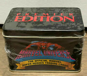 Marvel Universe 1990 Premier Edition Super Heroes Collectible Tin Factory Sealed