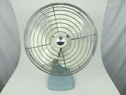 Knapp Monarch Jack Frost Vintage Electric Metal Fan No. 3-506e Tested And Works