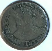 Great Britain 1554-8 Queen Mary Silver Penny S2512 Coin