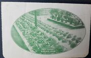 Australia-germany Letter Card 1d Kgv Fruit Exhibit Adelaide Show To Pow Soldier