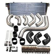 Cxracing New Upgrade 3.5 Core Intercooler Piping Kit For 2013+ Ford Escape 2.0t