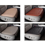 Pu Leather Bamboo Car Seat Breathable Cover Pad Mat For Auto Car Chair 4x