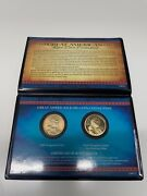 Lot Of 5 American Coin Collection Sacagawea 2000 And San Fransisco Proof Sets