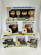Funko Pop Peanuts - Charlie Olaf Lucy Sally And Linus