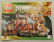 Lego Ninjago 70505 Instruction Manual Temple Of Light Book 2 Only