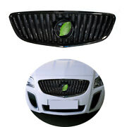 Gloss Black Front Center Mesh Grille Grill Cover Trim For Buick Regal 2009-2013