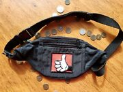Used / Disney / 1 Mouse In The House / Heavy Stitch / Black / Fanny Pack