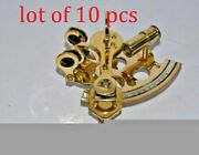 And039and039 Working Marine Collectible Nautical Brass German Maritime Sextant  Mater