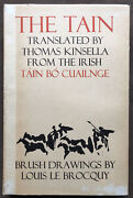 The Tain Thomas Kinsella. Illustrated Le Brocquy.1969 Limited Edition. Signed.