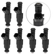 6pcs Fuel Injectors 4-hole Upgrade Replacement For 0280155784 Jeep Cherokee Usa