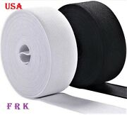100 Yard 2 Inch Sewing Elastic High Quality Made In Usa , Free Shipping