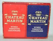 Chateau Martin Wines Vermouth Champagne Playing Cards 119