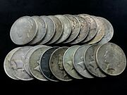 Roll Lot Of 20 Us 1 Silver Peace Dollar P And Mostly S Minted 1922-1926