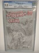 The Amazing Spider-man Learning To Crawl 1.2 Cgc 9.8 Bandw Marvel Limited 1 Of 200