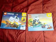 Lego Creator 3 And 1 Set 31109 Pirate Ship Instructions Only