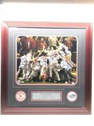Mlb Boston Red Sox Road To The 2004 World Series Frame 26 Signatures Cmp043414