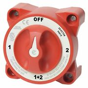Blue Sea Systems 9001e E-series Battery Switch 4-position Selector Marine Boat