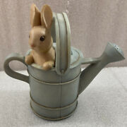 Peter Rabbit Watering Can Bank Beatrix Potter Collection 1994 ...spring Bunny