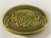 Tyler Childers Feathered Indians Belt Buckle