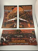 Tyler Childers Exit/in Nashville Rare 3 Poster Set Triptych 18x24 Total