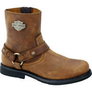 Harley-davidson Menand039s Riding Appropriate Boots Scout - Brown - D95263