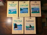 Htf Collection Arthur Ransome Godine Coot Club Swallowdale Swallows And Amazons Nr