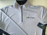Chris Craft Screen Printed Long Sleeve 1/4 Zip 100 Polyester Pullover