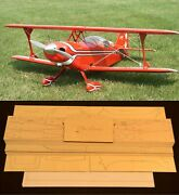 52 Ws Pitts Special R/c Plane Partial Kit/short Kit And Plans, Pls Read