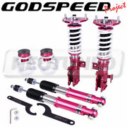 Godspeed Monoss Coilovers Suspension Kit Camber Plate For Toyota Prius V 2008-15