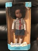 """First Edition 18"""" Journey Girls Taryn Doll Toys R Us Hard To Find African Americ"""