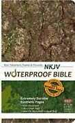 Nkjv Waterproof Bible New Testament W/psalms And Proverbs-camouflage